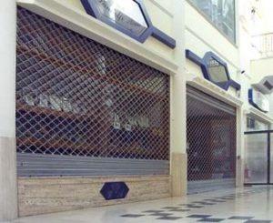 Serrande centri commerciali Lecco